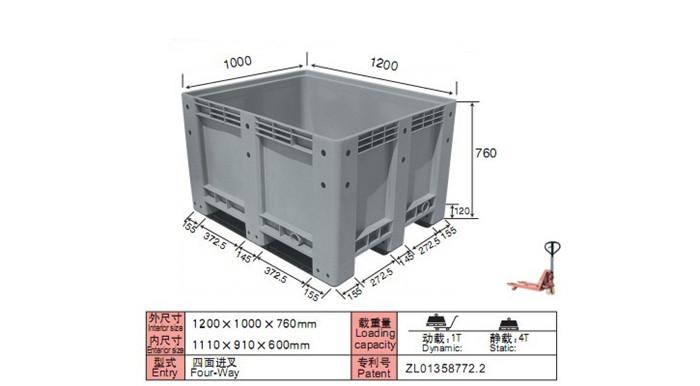 DS-1210 大型封闭卡板箱